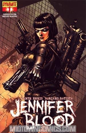 Garth Ennis Jennifer Blood #1 Regular Johnny Desjardins Cover