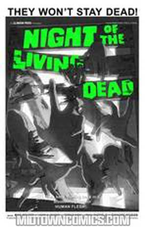 Night Of The Living Dead #3 Incentive Classic Black & White Edition
