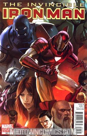 Invincible Iron Man #501 Cover B Incentive Marko Djurdjevic Variant Cover