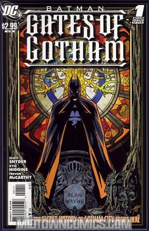 Batman Gates Of Gotham  #1 Cover A Regular Trevor McCarthy Cover