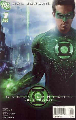Green Lantern Movie Prequel Hal Jordan #1