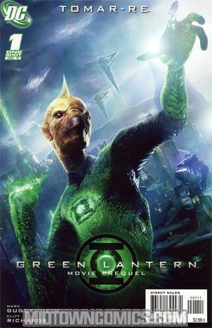 Green Lantern Movie Prequel Tomar-Re #1