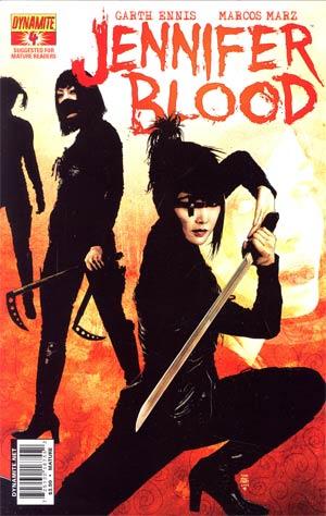 Garth Ennis Jennifer Blood #4 Regular Tim Bradstreet Cover