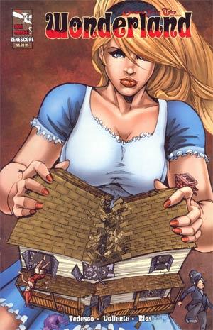 Grimm Fairy Tales Presents Wonderland Annual 2011 Cover B Mike DeBalfo