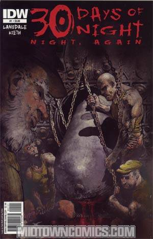 30 Days Of Night Night Again #1 Cover A Regular Sam Kieth Cover