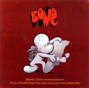 Bone 20th Anniversary Full Color One Volume HC Collectors Box Set