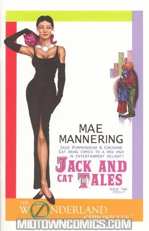Oz Wonderland Chronicles Jack & Cat Tales #2 Casey Heying Cover