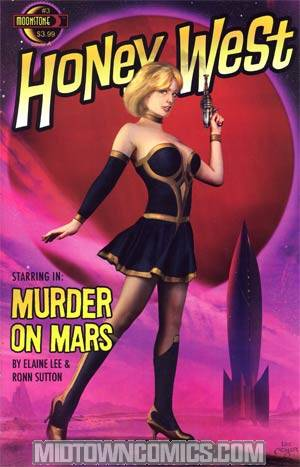 Honey West #3 Cover A Lee Moyer