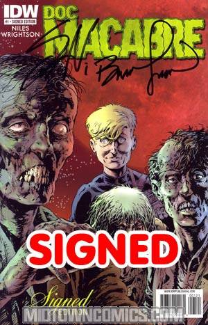 Doc Macabre #1 Incentive Signed By Steve Niles & Bernie Wrightson