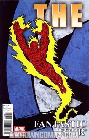 Fantastic Four Vol 3 #583 4th Ptg Variant Cover