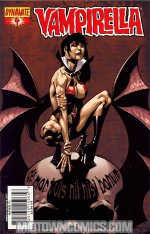 Vampirella Vol 4 #4 Regular Jason Pearson Cover