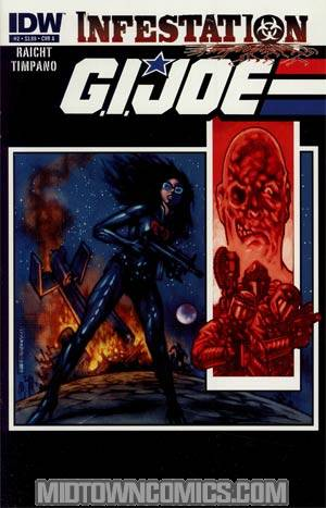 GI Joe Infestation #2 Regular Cover A