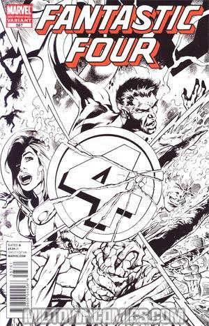 Fantastic Four Vol 3 #587 Cover E 3rd Ptg Variant Cover