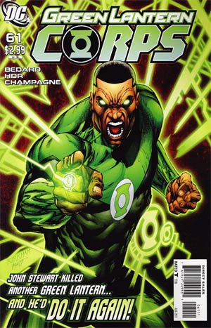 Green Lantern Corps Vol 2 #61 Cover A Regular Tyler Kirkham Cover (War Of The Green Lanterns Aftermath)