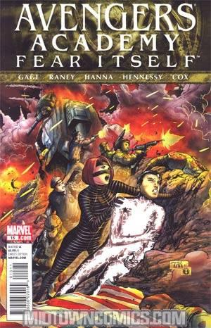 Avengers Academy #15 (Fear Itself Tie-In)