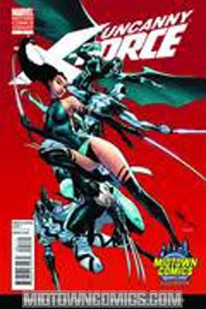 Uncanny X-Force #1 DF J Scott Campbell Midtown Comics Exclusive Variant Cover Plus Bonus Book