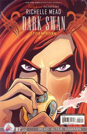 Richelle Meads Dark Swan Storm Born #2 Regular Dave Hamann Cover