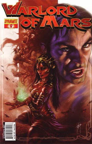 Warlord Of Mars #9 Regular Lucio Parrillo Cover
