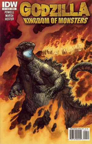Godzilla Kingdom Of Monsters #4 Cover A Regular Eric Powell Cover