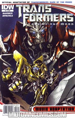 Transformers Dark Of The Moon Movie Adaptation #3