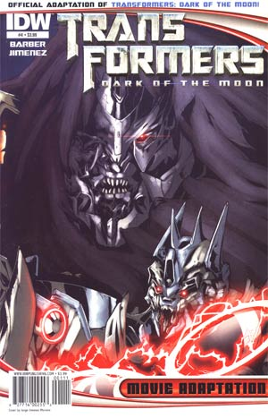 Transformers Dark Of The Moon Movie Adaptation #4
