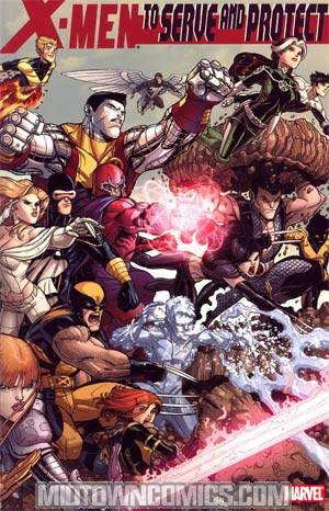 X-Men To Serve And Protect TP