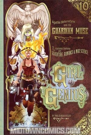 Girl Genius Vol 10 Agatha Heterodyne And The Guardian Muse TP