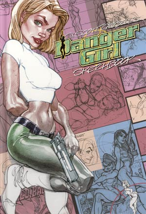 J Scott Campbells Danger Girl Sketchbook HC