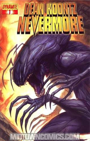 Dean Koontzs Nevermore #1 Regular Tyler Walpole Cover