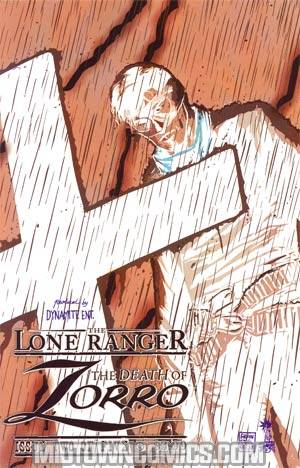 Lone Ranger Zorro Death Of Zorro #2 Cover B Incentive Francesco Francavilla Negative Art Cover