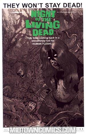 Night Of The Living Dead Annual 2011 Incentive Classic Black & White Edition