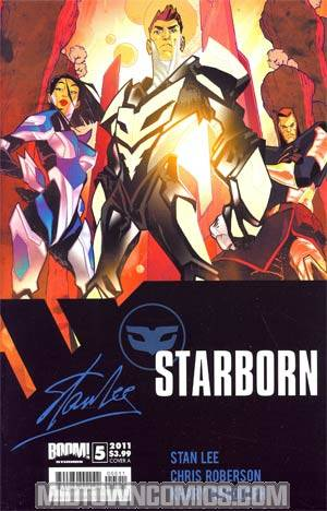Stan Lees Starborn #5 Cover A Matteo Scalera