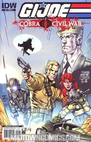 GI Joe Cobra Civil War #0 Incentive Javier Saltares Variant Cover