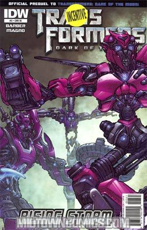 Transformers Rising Storm #3 Incentive Carlos Magno Variant Cover