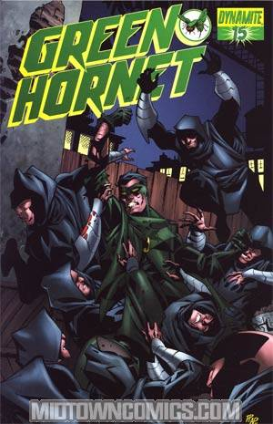 Kevin Smiths Green Hornet #15 Cover B Regular Phil Hester Cover