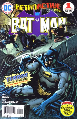 DC Retroactive Batman The 70s #1