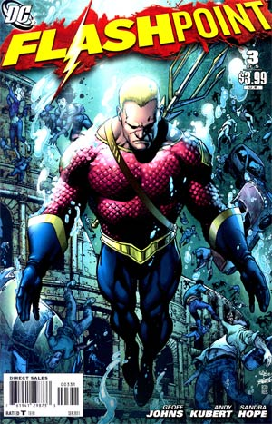 Flashpoint #3 Cover C Variant Ivan Reis & George Perez Cover