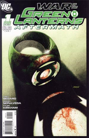 War Of The Green Lanterns Aftermath #1 Regular Dave Johnson Cover