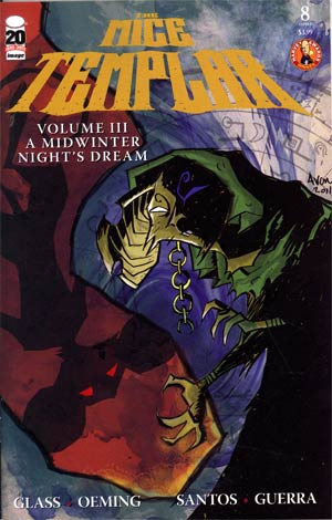 Mice Templar Vol 3 A Mid-Winter Nights Dream #8 Cover A Michael Avon Oeming
