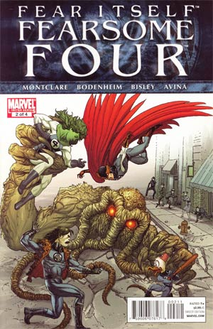Fear Itself Fearsome Four #2