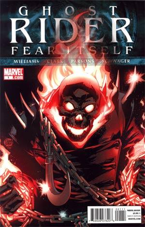 Ghost Rider Vol 6 #1 Regular Adam Kubert Cover (Fear Itself Tie-In)