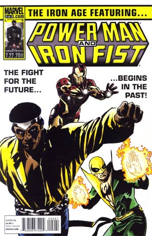 Iron Age #2 Power Man And Iron Fist By Michael Lark Cover