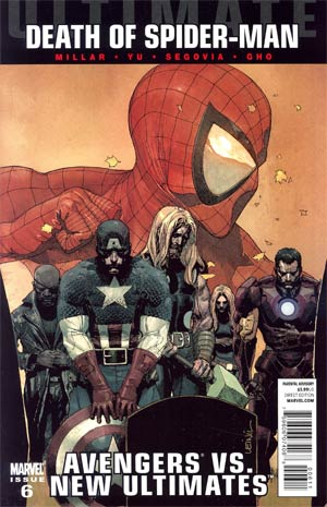 Ultimate Comics Avengers vs New Ultimates #6 Regular Leinil Francis Yu Cover (Death Of Spider-Man Tie-In)