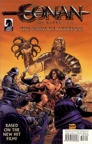 Conan The Barbarian The Mask Of Acheron