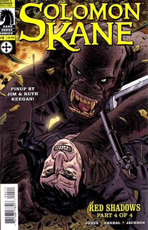 Solomon Kane Red Shadows #4 Regular Guy Davis Cover