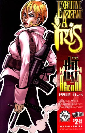 Executive Assistant Iris Vol 2 #1 Cover A Edu Francisco
