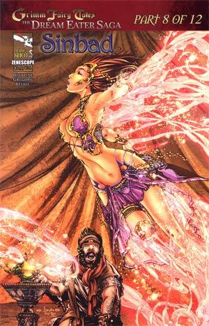 Sinbad Grimm Fairy Tales One Shot Cover A E-Bas (Dream Eater Saga Part 8)