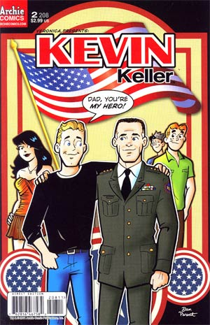 Veronica #208 (Veronica Presents Kevin Keller #2) Regular Cover
