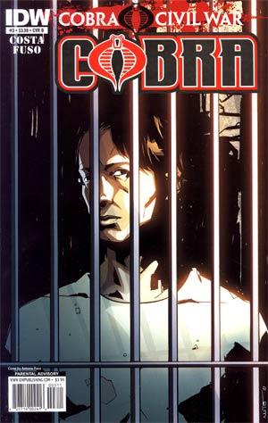 Cobra #3 Regular Cover B (Cobra Civil War Tie-In)