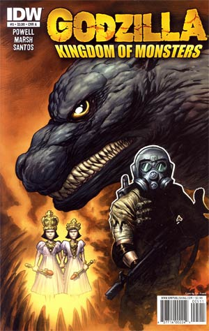 Godzilla Kingdom Of Monsters #5 Cover A Regular Eric Powell Cover